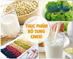 bổ sung canxi